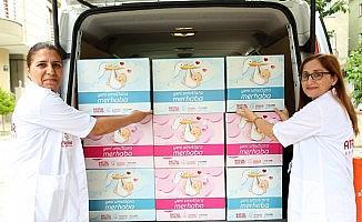 """Ataşehir Belediyesi'nden yeni doğan bebeklere """"Hoş Geldin"""" hediyesi"""
