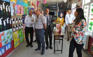 Balotu Köyü İlk ve Ortaokulunda 'Bilim Fuarı' açıldı