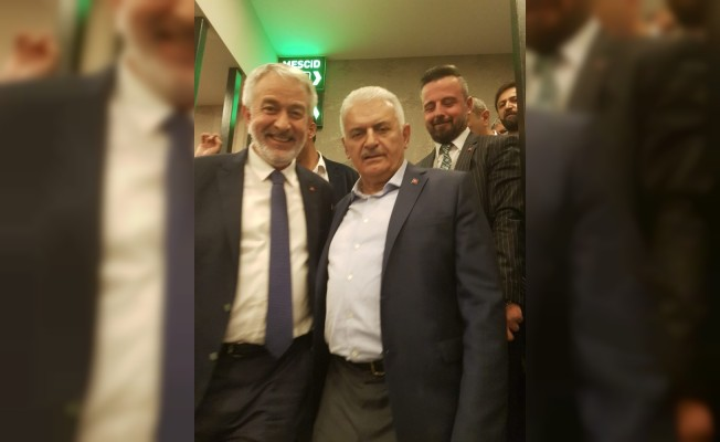 Başkan Başdeğirmen'den Yıldırım'ın İstanbul seçim çalışmalarına destek