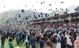BEÜ'de mezuniyet töreni