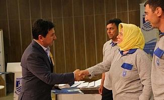 Bodrum Belediyesi'nden başarılı personele ödül