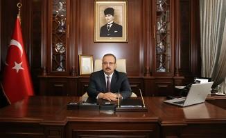 Bursa Valisi Yakup Canbolat'ın Jandarma Teşkilatının Kuruluşunun 180. Yıl Dönümü Mesajı
