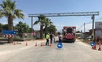 Büyükşehir ekipleri trafikte güvenlik için çalışıyor