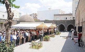 Cizre'de Mursi için gıyabi cenaze namazı kılındı