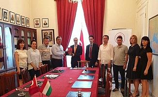 Çorum heyeti Budapeşte büyükelçisini ziyaret etti
