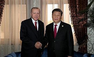 Cumhurbaşkanı Erdoğan Çin, Rusya, Özbekistan liderleriyle görüştü