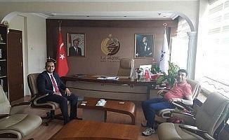Cumhuriyet Başsavcısı Yılmaz, Kaymakam Güven'i ziyaret etti