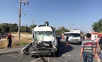 Datça'da kaza: 3 yaralı