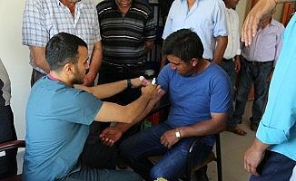 Develi Belediyesi Personeli Sağlık Kontrolünden Geçti