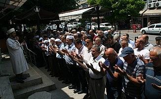 Devrek'te Mursi için gıyabı cenaze namazı kılındı
