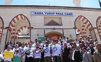 Erciş'te Mursi için gıyabi cenaze namazı