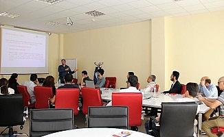 Erciyes Teknopark'ta firmalara yönelik horizon 2020 eğitimi düzenlendi