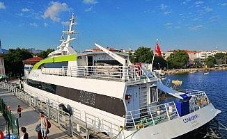 Erdek'ten Avşa ve Marmara'ya deniz otobüsü seferi