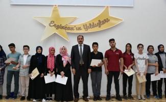 """""""Erzincan'ın yıldızları"""" ödüllendirildi"""
