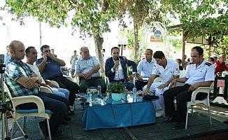 Halk toplantısında Datça'nın tüm sorunları masaya yatırıldı