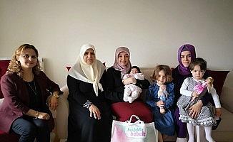 'Hoşgeldin bebek' projesinde 20 bin aile ziyaret edildi