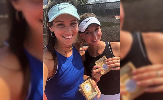İpek Soylu İsrail'de çiftlerde şampiyon