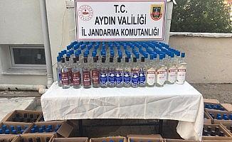 Jandarmadan otele kaçak içki operasyonu