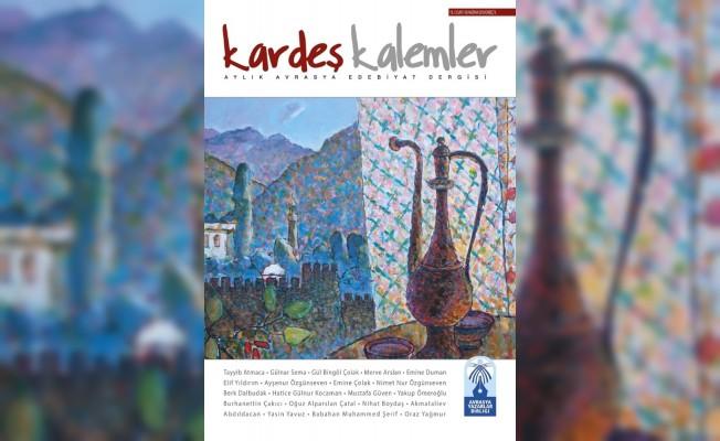 Kalemler Aylık Avrasya Edebiyat Dergisi'nin 150. sayısı yayınlandı