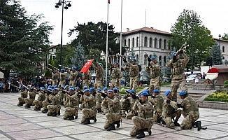 Kastamonu'da jandarma teşkilatı, kuruluşunu kutladı