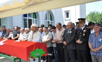 Kıbrıs Gazisi için tören düzenlendi