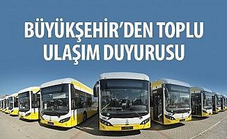 Konya'da YKS'ye girecek öğrencilere ulaşım ücretsiz