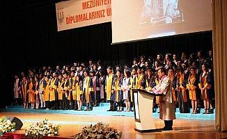 MSKÜ'den 7 bin 550 öğrenci mezun oldu