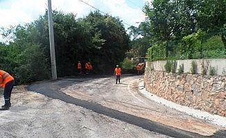 Orhaniye'nin yolları tamir edildi