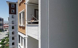 (Özel) Artık gitmek istediği parka pencereden bakmayacak