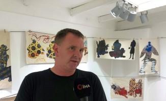(Özel) İngiliz sanatçı Türk canavarlarını yeniden yorumladı