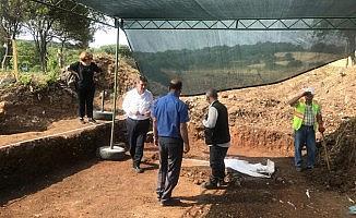 Parıon antik kenti yakınlarında kurtarma kazıları başlatıldı