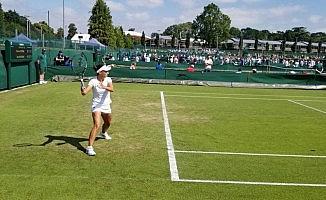 Pemra ve Başak Wimbledon elemelerinde son turun kapısından döndüler