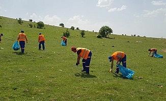 Piknikçilere çöp uyarısı