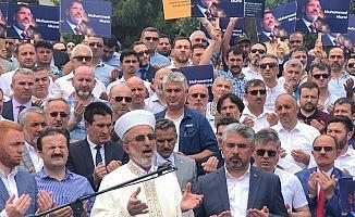 Samsun'da Mursi için gıyabi cenaze namazı kılındı
