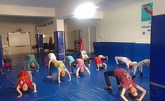 Simav'da 'Yaz Spor Okulları' başladı