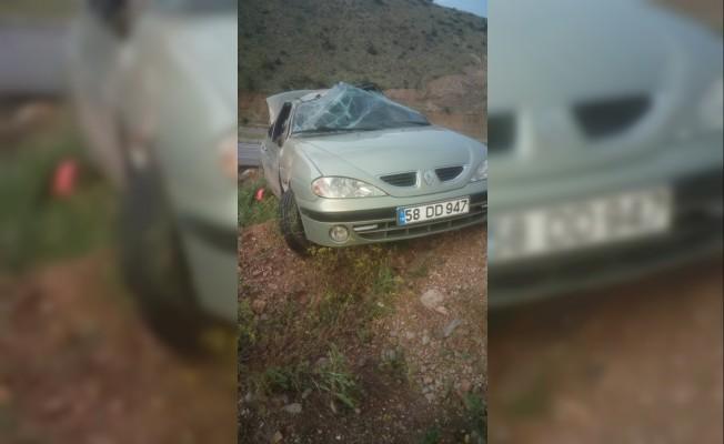 Sivas'ta trafik kazası 7 yaralı
