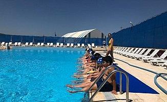 Söğüt'te yüzme kursları başladı