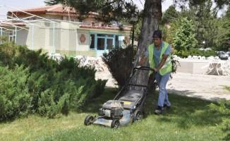 Şuhut'ta çevre düzeleme çalışmaları devam ediyor