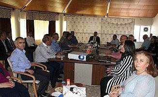 Taşkesenligil, Yurt Müdürleri ile 2018-2019 öğretim yılının değerlendirmesini yaptı