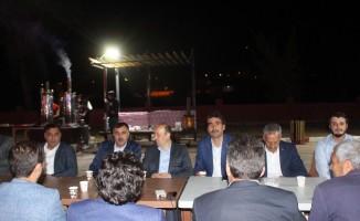 Taşlıçay Belediyesi bin kişiye iftar yemeği verdi
