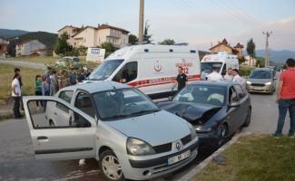 Tokat'da ki kazada yaralılar var