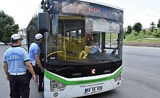 Toplu taşıma araçlarına klima denetimi