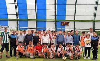 Toplum Destekli Polislik Şube Müdürlüğünden anlamlı futbol karşılaşması
