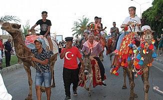 Turizm ve Sanat Festivali, Yörük göçü ve kortejle başladı