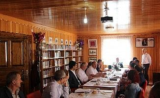 Türkeli'de İlçe İdare Kurulu Toplantısı