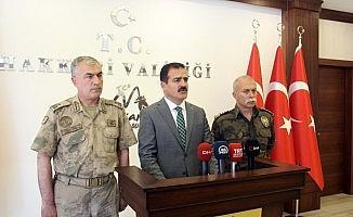 """Vali Akbıyık: """"46 şehidimizin kanı yerde kalmamıştır"""""""
