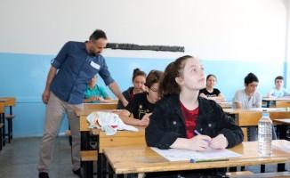 Yozgat'ta LGS heyecanı yaşandı