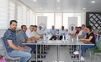 AESOB'da eğitim ve değerlendirme toplantısı