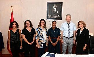 Anadolu Üniversitesi İngiltere Büyükelçiliği heyetini ağırladı