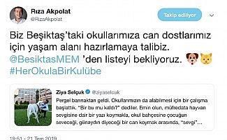 Bakan Selçuk'un çağrısına Başkan Akpolat'tan destek